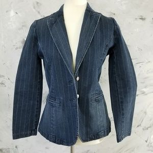 NAUTICA Denim Jean Jacket Size Small Petite